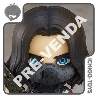 PRÉ-VENDA 28/02/2022 (VALOR TOTAL R$ 738,00 - 10% PARA RESERVA*) Nendoroid 1617-DX - Winter Soldier DX - The Falcon and The Winter Soldier  - Ichigo-Toys Colecionáveis