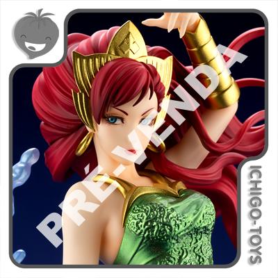 PRÉ-VENDA 30/04/2021 (VALOR TOTAL R$ 1.106,00 - 20% PARA RESERVA*) Bishoujo Figure 1/7 - Mera - DC Bishoujo  - Ichigo-Toys Colecionáveis