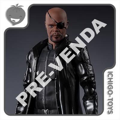 PRÉ-VENDA 31/05/2021 (VALOR TOTAL R$ 598,00 - 10% PARA RESERVA*) S.H. Figuarts - Nick Fury - Avengers  - Ichigo-Toys Colecionáveis
