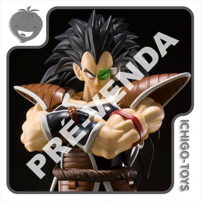 PRÉ-VENDA 30/04/2021 (VALOR TOTAL R$ 712,00 - 10% PARA RESERVA*) S.H. Figuarts Tamashii Web Exclusive - Raditz - Dragon Ball Z  - Ichigo-Toys Colecionáveis