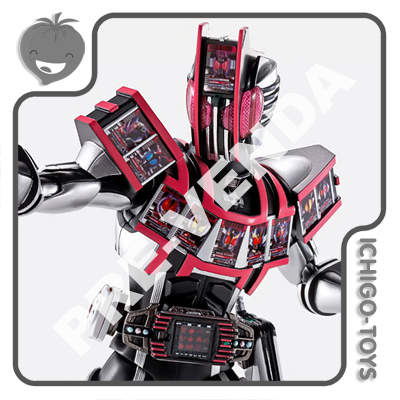 PRÉ-VENDA 30/04/2021 (VALOR TOTAL R$ 804,00 - 10% PARA RESERVA*) S.H. Figuarts Shinkocchou Seihou Tamashii Web Exclusive - Masked Rider Decade Complete Form - Masked Rider Decade  - Ichigo-Toys Colecionáveis