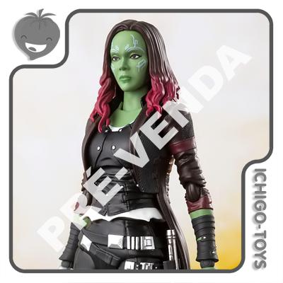 PRÉ-VENDA 30/04/2021 (VALOR TOTAL R$ 852,00 - 10% PARA RESERVA*) S.H. Figuarts Tamashii Web Exclusive - Gamora - Avengers: Infinity War  - Ichigo-Toys Colecionáveis