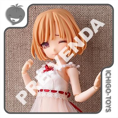 PRÉ-VENDA 30/04/2022 (VALOR TOTAL R$ 1.072,00 - 20% PARA RESERVA*) ParDoll Series - Babydoll Blanc - Parfom Doll Original Figure  - Ichigo-Toys Colecionáveis
