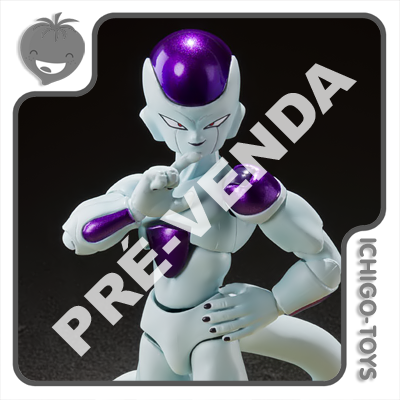PRÉ-VENDA 30/04/2022 (VALOR TOTAL R$ 446,00 - 10% PARA RESERVA*) S.H. Figuarts - Frieza Fourth Form - Dragon Ball Z  - Ichigo-Toys Colecionáveis