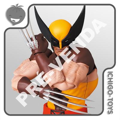 PRÉ-VENDA 31/01/2022 (VALOR TOTAL R$ 762,00 - 10% PARA RESERVA*) Mafex 138 - Wolverine (Brown) - The Uncanny X-Men  - Ichigo-Toys Colecionáveis