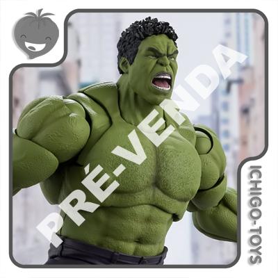 PRÉ-VENDA 31/07/2021 (VALOR TOTAL R$ 732,00 - 10% PARA RESERVA*) S.H. Figuarts - Hulk Avengers Assemble - Avengers  - Ichigo-Toys Colecionáveis