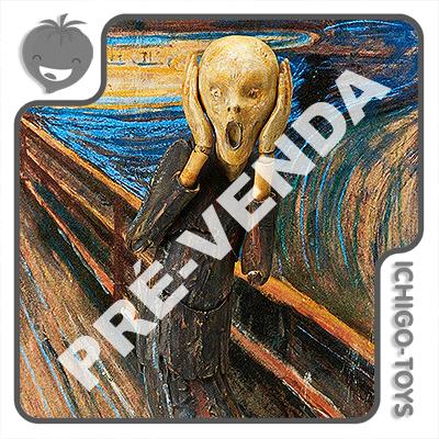 PRÉ-VENDA 30/06/2022 (VALOR TOTAL R$ 706,00 - 10% PARA RESERVA*) Figma SP-086 - The Scream - The Table Museum  - Ichigo-Toys Colecionáveis