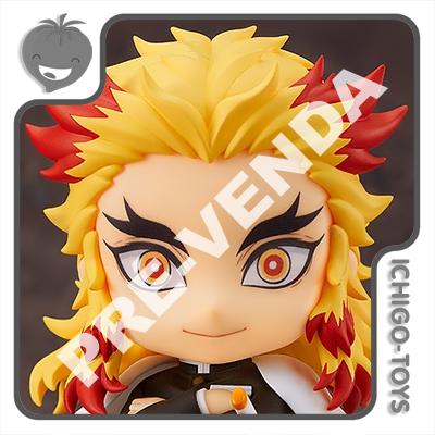 PRÉ-VENDA 31/10/2021 (VALOR TOTAL R$ 538,00 - 10% PARA RESERVA*) Nendoroid 1541 - Kyojuro Rengoku - Demon Slayer: Kimetsu no Yaiba  - Ichigo-Toys Colecionáveis