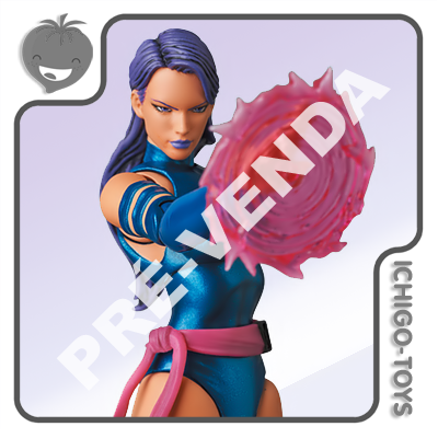 PRÉ-VENDA 31/10/2021 (VALOR TOTAL R$ 846,00 - 10% PARA RESERVA*) Mafex 141 - Psylocke - The Uncanny X-Men  - Ichigo-Toys Colecionáveis
