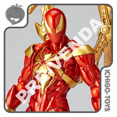 PRÉ-VENDA 30/09/2021 (VALOR TOTAL R$ 754,00 - 10% PARA RESERVA*) Revoltech Amazing Yamaguchi 023 - Iron Spider - The Amazing Spider-Man  - Ichigo-Toys Colecionáveis