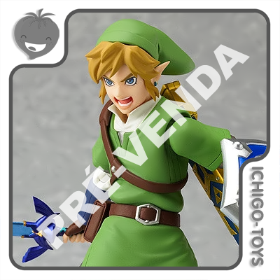 PRÉ-VENDA 30/09/2022 (VALOR TOTAL R$ 642,00 - 10% PARA RESERVA*) Figma 153 - Link - The Legend of Zelda: Skyward Sword  - Ichigo-Toys Colecionáveis