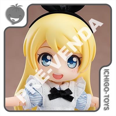 PRÉ-VENDA 30/11/2020 (VALOR TOTAL R$ 472,00 - 10% PARA RESERVA*) Nendoroid Doll - Alice - Alice in Wonderland  - Ichigo-Toys Colecionáveis