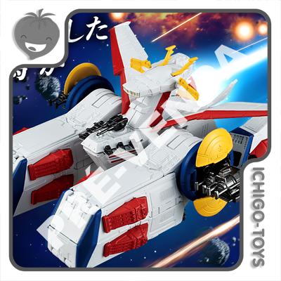 PRÉ-VENDA 30/11/2021 (VALOR TOTAL R$ 546,00 - 10% PARA RESERVA*) Gundam Converge SB Fusion Works Tamashii Web Exclusive - Pegasus Class Assault Ship No. 2 White Base - Mobile Suit Gundam  - Ichigo-Toys Colecionáveis