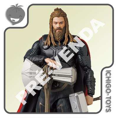 PRÉ-VENDA 31/01/2022 (VALOR TOTAL R$ 762,00 - 10% PARA RESERVA*) Mafex 149 - Thor - Avengers: End Game  - Ichigo-Toys Colecionáveis