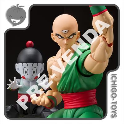 PRÉ-VENDA 30/11/2021 (VALOR TOTAL R$ 782,00 - 10% PARA RESERVA*) S.H. Figuarts Tamashii Web Exclusive - Tenshinhan and Chaoz - Dragon Ball Z  - Ichigo-Toys Colecionáveis