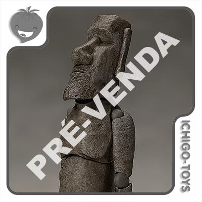 PRÉ-VENDA 31/01/2021 (VALOR TOTAL R$ 442,00 - 10% PARA RESERVA*) Figma SP-127 - Moai - Table Museum  - Ichigo-Toys Colecionáveis