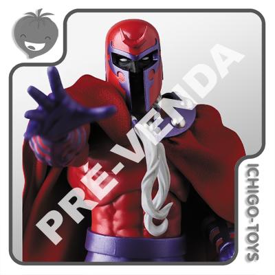 PRÉ-VENDA 31/03/2021 (VALOR TOTAL R$ 682,00 - 10% PARA RESERVA*) Mafex 128 - Magneto (Comic) - The Uncanny X-Men  - Ichigo-Toys Colecionáveis