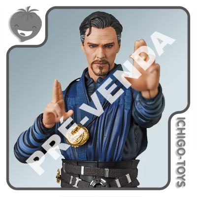 PRÉ-VENDA 31/01/2022 (VALOR TOTAL R$ 1.184,00 - 10% PARA RESERVA*) Mafex 152 - Doctor Strange - Avengers: Infinity War  - Ichigo-Toys Colecionáveis