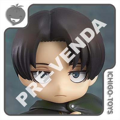 PRÉ-VENDA 31/01/2022 (VALOR TOTAL R$ 544,00 - 10% PARA RESERVA*) Nendoroid 390 - Levi - Attack on Titan  - Ichigo-Toys Colecionáveis