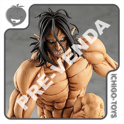 PRÉ-VENDA 31/01/2022 (VALOR TOTAL R$ 514,00 - 10% PARA RESERVA*) Pop Up Parade - Eren Yeager Attack Titan - Attack on Titan  - Ichigo-Toys Colecionáveis