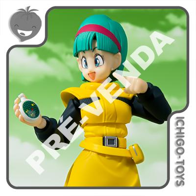 PRÉ-VENDA 31/01/2022 (VALOR TOTAL R$ 624,00 - 10% PARA RESERVA*) S.H. Figuarts Tamashii Web Exclusive - Bulma Journey to Planet Nameki - Dragon Ball Z  - Ichigo-Toys Colecionáveis