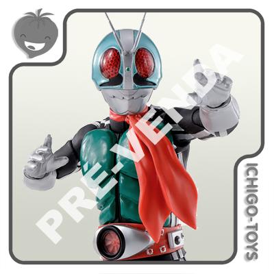 PRÉ-VENDA 31/01/2022 (VALOR TOTAL R$ 756,00 - 10% PARA RESERVA*) S.H. Figuarts Shinkocchou Seihou - Masked Rider New 1 - Masked Rider 50th Anniversary  - Ichigo-Toys Colecionáveis