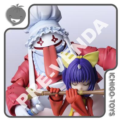PRÉ-VENDA 31/10/2020 (VALOR DE 20% PARA RESERVA*) Bring Arts - Eiko Carol and Quina Quen - Final Fantasy IX  - Ichigo-Toys Colecionáveis