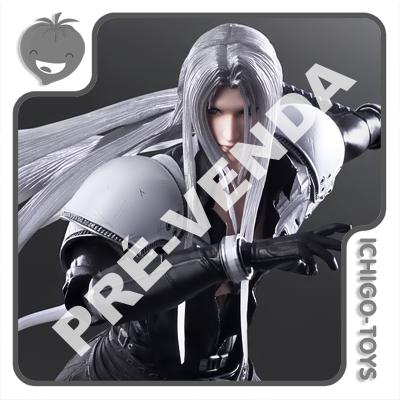 PRÉ-VENDA 31/01/2022 (VALOR TOTAL R$ 1.322,00 - 20% PARA RESERVA*) Play Arts Kai - Sephiroth - Final Fantasy VII Remake  - Ichigo-Toys Colecionáveis