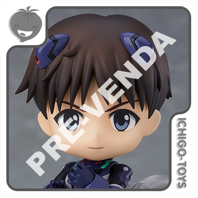 PRÉ-VENDA 31/05/2021 (VALOR TOTAL R$ 492,00 - 10% PARA RESERVA*) Nendoroid 1445 - Shinji Ikari Plugsuit - Neon Genesis Evangelion  - Ichigo-Toys Colecionáveis