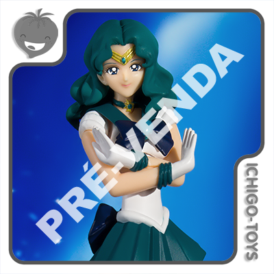 PRÉ-VENDA 31/05/2021 (VALOR TOTAL R$ 486,00 - 10% PARA RESERVA*) S.H. Figuarts - Sailor Neptune Animation Color Edition - Sailor Moon  - Ichigo-Toys Colecionáveis