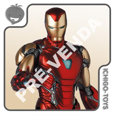 PRÉ-VENDA 31/08/2021 (VALOR TOTAL R$ 1.184,00 - 10% PARA RESERVA*) Mafex 136 - Iron Man Mark 85 - Avengers: Endgame  - Ichigo-Toys Colecionáveis