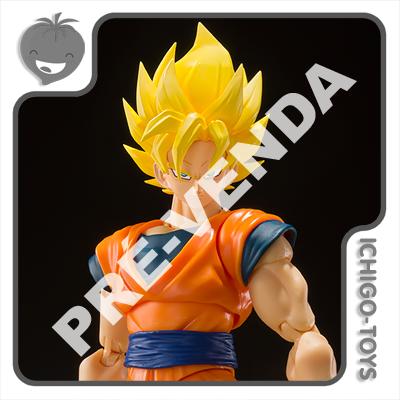 PRÉ-VENDA 31/08/2021 (VALOR TOTAL R$ 458,00 - 10% PARA RESERVA*) S.H. Figuarts - Super Saiyan Son Goku Full Power - Dragon Ball Z  - Ichigo-Toys Colecionáveis