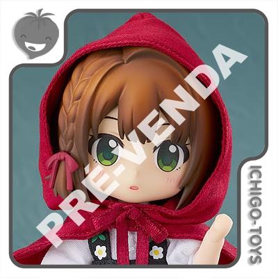 PRÉ-VENDA 31/07/2021 (VALOR TOTAL R$ 548,00 - 10% PARA RESERVA*) Nendoroid Doll - Little Red Riding Hood - Little Red Riding Hood  - Ichigo-Toys Colecionáveis