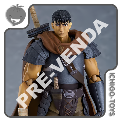 PRÉ-VENDA 31/08/2021 (VALOR TOTAL R$ 612,00 - 10% PARA RESERVA*) Figma 501 - Guts Band of the Hawk Repaint Edition - Berserk: Golden Age Arc  - Ichigo-Toys Colecionáveis
