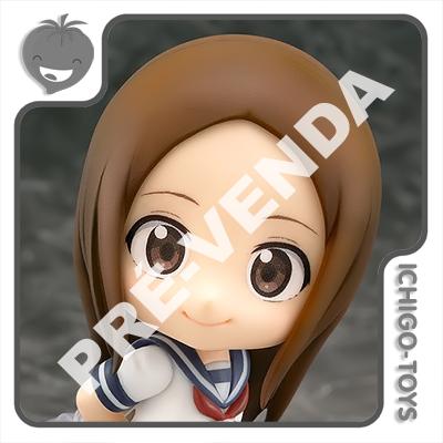 PRÉ-VENDA 31/08/2021 (VALOR TOTAL R$ 526,00 - 10% PARA RESERVA*) Nendoroid 1413 - Takagi-san - Karakai Jozu No Takagi-san  - Ichigo-Toys Colecionáveis