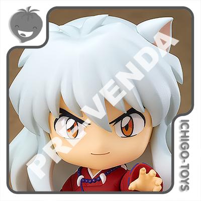 PRÉ-VENDA 30/09/2021 (VALOR TOTAL R$ 474,00 - 10% PARA RESERVA*) Nendoroid 1300 - Inuyasha - Inuyasha  - Ichigo-Toys Colecionáveis