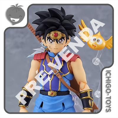 PRÉ-VENDA 28/02/2022 (VALOR TOTAL R$ 842,00 - 10% PARA RESERVA*) Figma 500 Goodsmile Online Shop Exclusive - Dai - Dragon Quest: Dai no Daiboken  - Ichigo-Toys Colecionáveis