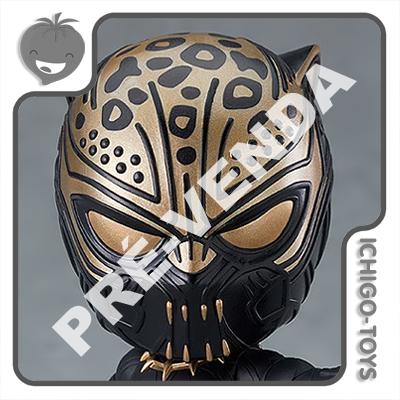 PRÉ-VENDA 31/08/2022 (VALOR TOTAL R$ 718,00 - 10% PARA RESERVA*) Nendoroid 1704 - Erik Killmonger - Black Panther  - Ichigo-Toys Colecionáveis