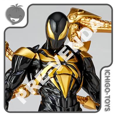 PRÉ-VENDA 31/10/2021 (VALOR TOTAL R$ 1.092,00 - 10% PARA RESERVA*) Revoltech Amazing Yamaguchi 023-EX - Iron Spider Black Suit - The Amazing Spider-Man  - Ichigo-Toys Colecionáveis
