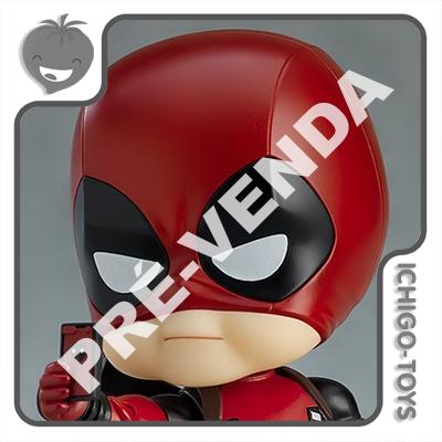 PRÉ-VENDA 31/10/2021 (VALOR TOTAL R$ 678,00 - 10% PARA RESERVA*) Nendoroid 662-DX - Deadpool DX - Deadpool  - Ichigo-Toys Colecionáveis