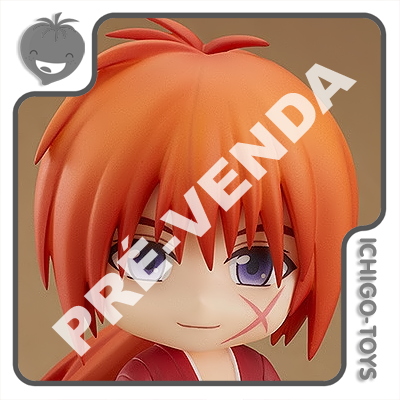 PRÉ-VENDA 31/01/2022 (VALOR TOTAL R$ 526,00 - 10% PARA RESERVA*) Nendoroid 1613 - Kenshin Himura - Rurouni Kenshin  - Ichigo-Toys Colecionáveis