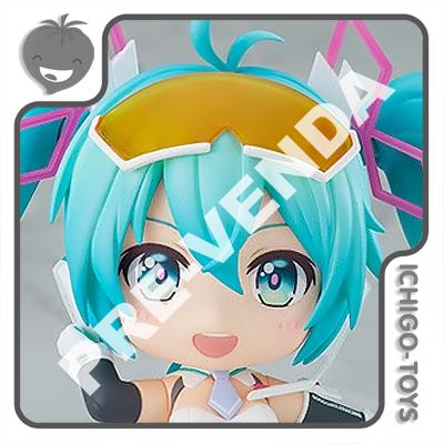 PRÉ-VENDA 31/01/2022 (VALOR TOTAL R$ 592,00 - 10% PARA RESERVA*) Nendoroid 1578 - Racing Miku 2021 - Hatsune Miku GT Project  - Ichigo-Toys Colecionáveis
