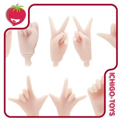 Pure Neemo Hands XS - A - natural ou white  - Ichigo-Toys Colecionáveis