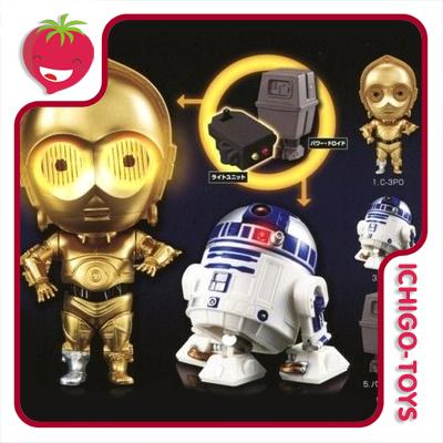 Q-Droid - Star Wars Vol.2 - set c/6pcs  - Ichigo-Toys Colecionáveis