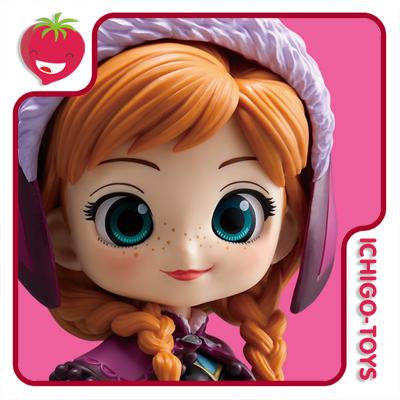 Qposket - Anna - Disney Characters - Normal Color  - Ichigo-Toys Colecionáveis