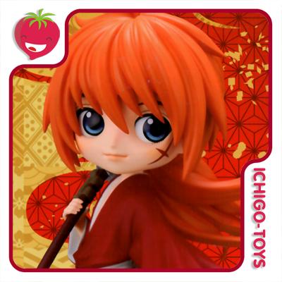 Qposket - Kenshin Himura A - Rurouni Kenshin  - Ichigo-Toys Colecionáveis