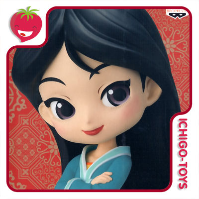Qposket - Mulan Royal Style - Disney Characters - Normal Color  - Ichigo-Toys Colecionáveis