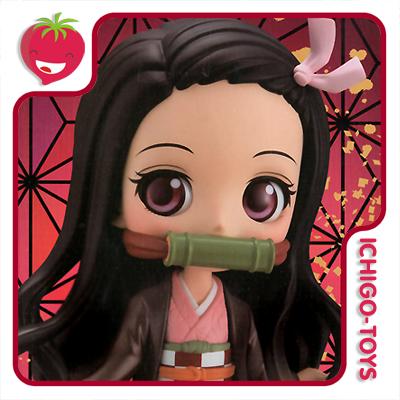 Qposket - Nezuko Kamado A - Demon Slayer: Kimetsu no Yaiba  - Ichigo-Toys Colecionáveis