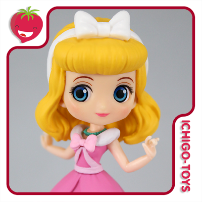 Qposket Petit Vol.9 - Cinderella Pink Dress - Disney Characters   - Ichigo-Toys Colecionáveis