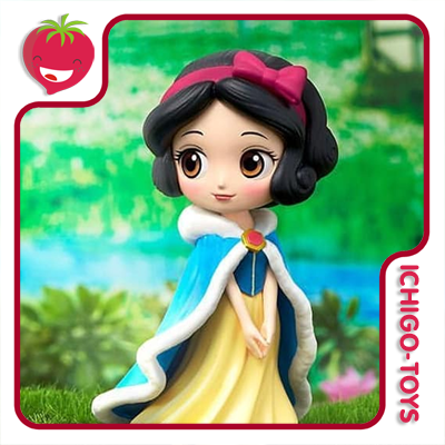 Qposket Petit Winter Costume - Snow White - Disney Characters   - Ichigo-Toys Colecionáveis